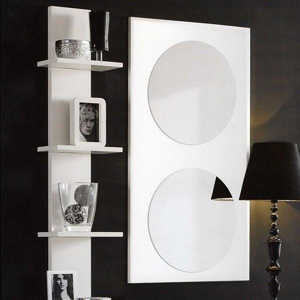 Espejo pared moderno muebles mobelsanz for Espejos de pared modernos