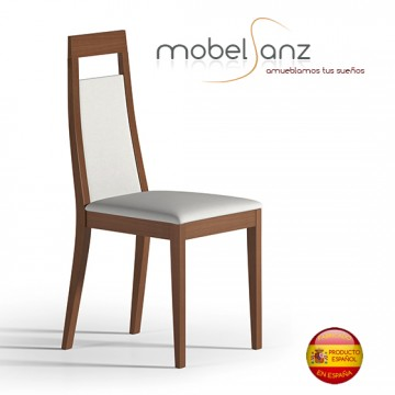 Silla de salon moderna en madera for Sillas madera modernas