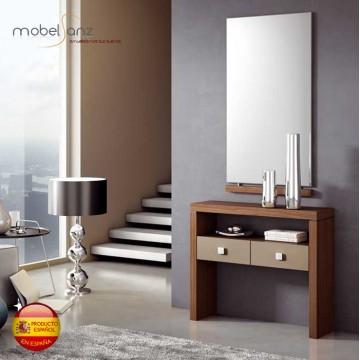 Espejo moderno de pared para recibidor o entradita for Oferta espejo pared