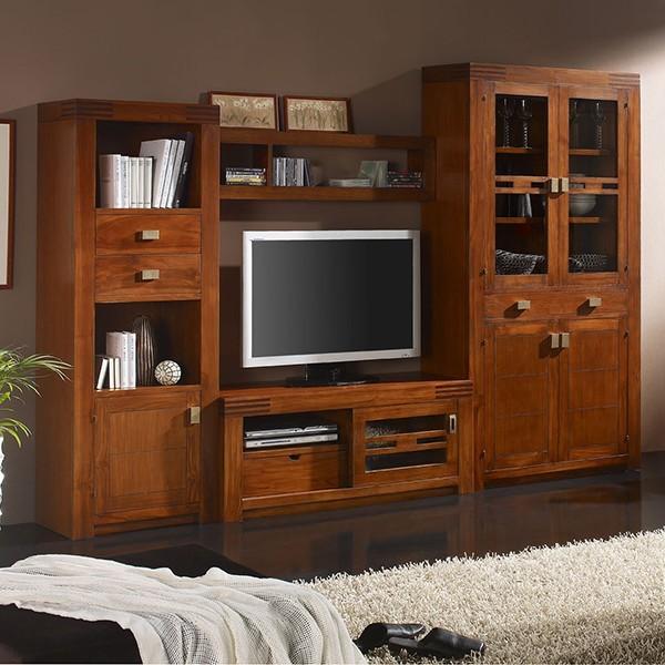 Lujo Teca Muebles De Salón Patrón - Muebles Para Ideas de Diseño de ...