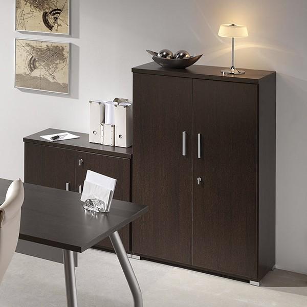 Adesivo De Janela Jateado ~ Libreria armario de oficina con 2 puertas