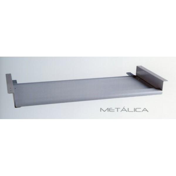bandeja teclado bajo mesa metalica