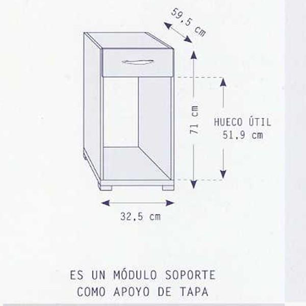 Modulo Auxiliar Cpu Con Cajon