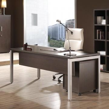 Mesa de oficina o despacho en madera for Mesas de despacho