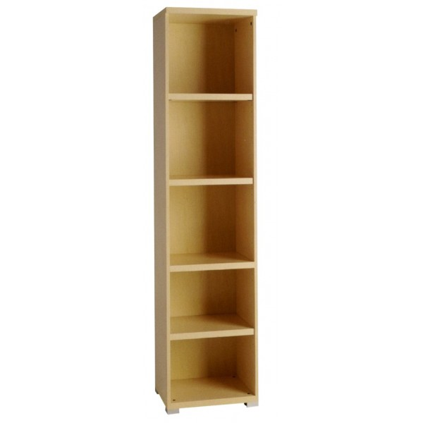 Libreria estanteria con estantes sin puertas de oficina for Mueble 45 cm ancho