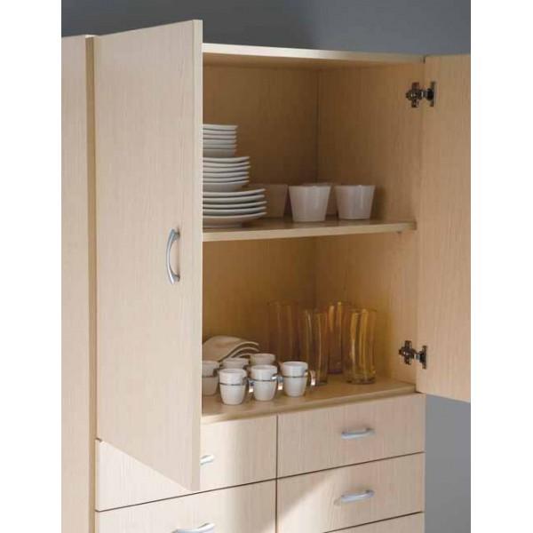 Armario auxiliar cocina muebles mobelsanz - Armarios de cocina en kit ...