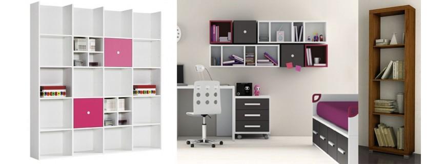 Libreria y estanteria muebles mobelsanz - Librerias estanterias modernas ...