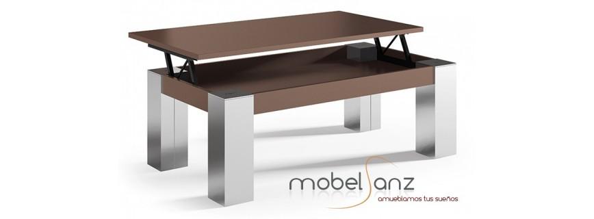 Mesas de centro muebles mobelsanz - Cristales para mesas redondas ...