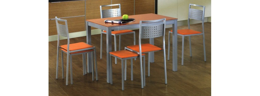 Mesas de cocina muebles mobelsanz - Mesa de madera para cocina ...