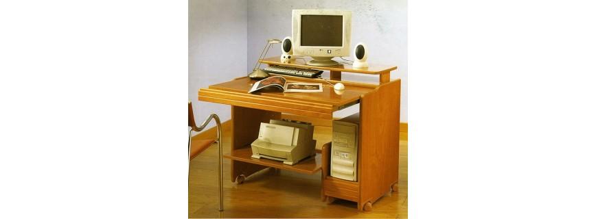 Mesas de ordenador muebles mobelsanz for Mesa de ordenador con ruedas
